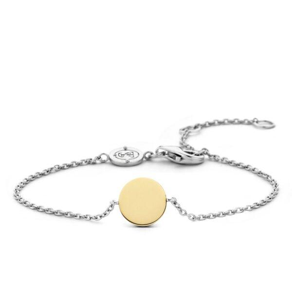 ti-sento-gold-disc-bracelet